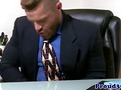 Matures Office Hunk Butt-banging Tattooed Arse