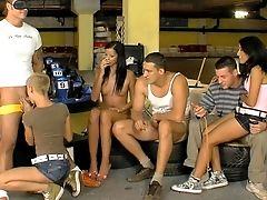 Group Orgy Practice For Izabella De Cruz