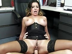 Amazing Office Fuck With Danica Dillon