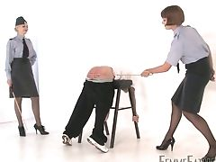 Skimpy Old Acquaintance Gets Arched Over And Smacked Hard By Master Miss Zoe