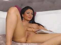 Lovely Petite Nubile Thumbs And Makes Her Gash Raw