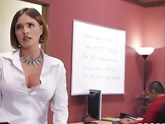 Ardent And Alluring Honey Krissy Lynn Is Assistant Who Loves Railing Dick