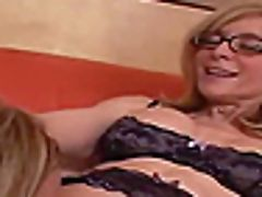 Two Lusty Blondes Love Being Plowed With A Hard Boner