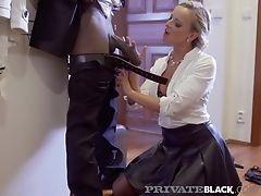 Privateblack - Victoria Unspoiled Gets Butt-fucked By A Black Prick