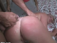 Russian Sightless Folded Chick Angie Koks Is Fucked By Beau's Friend