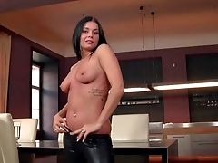 Victoria Blaze Is A Black Haired Hotty With Lovely Figure
