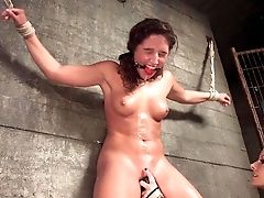 Lesbo Bondage & Discipline With Two Dirty Whores In Heats