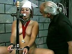 Unthinkably Horny Coed Angelina Is Truly Into Domination & Submission