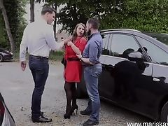 Mariskax Anal Invasion Threesome With Big-titted Cougar Sexy Susi