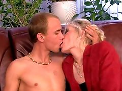 Knob Greedy Old Slender Blonde Whore With Cheep Tattoos And