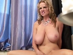 Kelly Madison Getting Facial Cumshot Pop-shot After Nice Oral Job