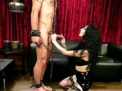 Severe  Arabelle Raphael Punises Ass Fucking Fuck Hole Of Tied Up Obedient
