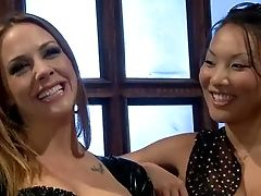 Asa Akira And Chanel Preston Starlet In Lesbo Domination Scene! Exotic
