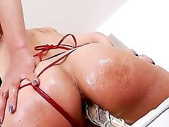 Brown-haired Lou Charmelle Is Very Horny After Masturbating And Needs James Deen To Fuck Her