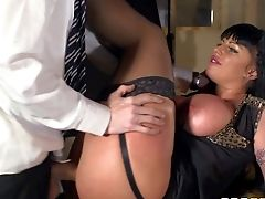 Kerry Louise Is A Romp Obsessed Huge-titted Schoolteacher With Dirty