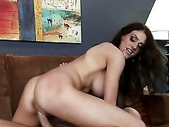 Dark Haired Eve Laurence With Big Hooters Is Not A Whore But A Porno Diva Who Loves To Suck Johnny Sinss Sausage
