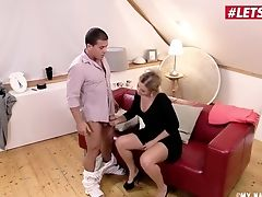 Letsdoeit - Horny Blonde Gets All Humid On Photographer's Sausage