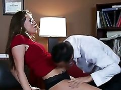 Nasty And Impatient To Fuck Assistant Tori Black Enjouys Pelasing Her Horny Manager Keiran Lee