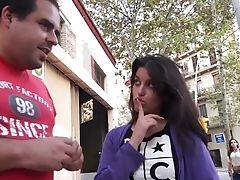 Spanish Stunner Ana Marco Is Picked Up And Fucked Hard By One Stranger Man