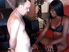 Hot Dark-hued Chick Cashmere Knows How To Give A Good Hand Jobs