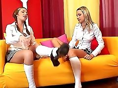 Jennifer Love And Sugar Honey Attempt To Find Something Fresh In Their All Girl Relationship, And Feet Fetish Seems To Be Like The Fresh Element In Th