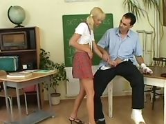 Fucking On The Floor With Sexy Zdenka A In Sexy Miniskirt. Hd
