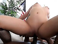 Prince Yahshua Gets His Always Hard Contraption Used By Ass-fuck-loving Casey Cumz