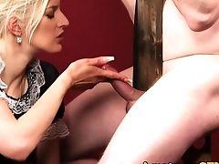 Cfnm Female Dom Jerksoff Bonded Masculine Sub