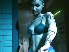 Judy Bang-out Scene  Cyberpunk 2077  No Spoilers  1080p 60fps