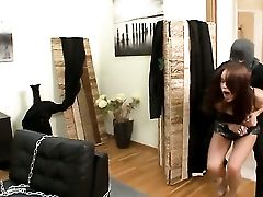 Angel Rivas Luvs Pulsing Meat Stick In Her Mouth Before She Gets Analed