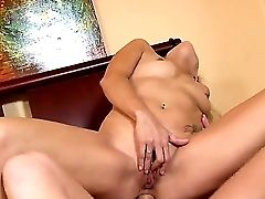 Deviant Mom In Law Payton Leigh Couldnt Keep Away From Her Daughters-in-law Hubby And His Furious Boner. She Impales Her Cunt And Donk And Shows How M