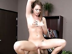 Teenage Minx Turns Johnny Sins On To The Point Of No Come Back And Takes His Fuck Stick In Her Mouth