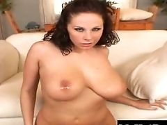 Hot Vixen Gianna's Massive Tits Bounce On A Big Boner