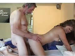 Little Caprice With Oldman