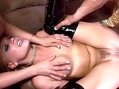 Ball Sack-deep Ass Fucking Session With A Muscular Man And The Horny Senorita