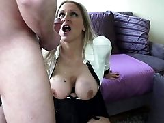 Hot Blonde Cougar Julia Ann With Brilliant Large Tits Gets