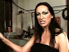 Crazy Domination & Submission Act With Nasty All Girl Brunettes Named Mandy Bright And Oliva