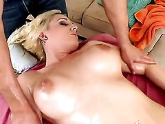Blonde Tristyn Kennedy With Meaty Jugs Does Dirty Things And Then Gets Her Nice Face Jizz Covered