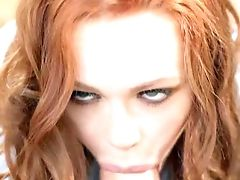 Dirty Red-haired Fucks With One Of Her Dad's Employees