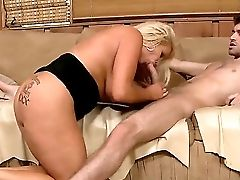 Lengthy Haired Matures Blonde Cougar Jr Carrington With Gigantic Dangling Knockers And Big Bouncing Tattooed Rump Rails On James Deen And Gets Fucked