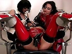 Two Stunning Mistresses Team Up To Penalize Their Fuck Toy