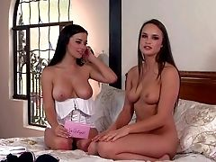 Taylor Vixen Is A Lovely Girl/girl Brown-haired That Perceives Free