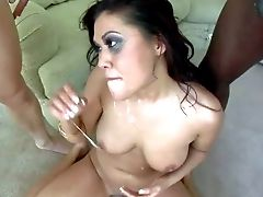 London Keyes Deepthroats Sausages Like A Pro. This Hot Asian